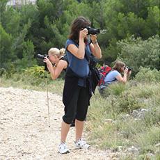 Photographier avec un professionnel