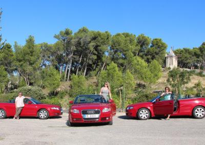 La voiture rouge de Doris