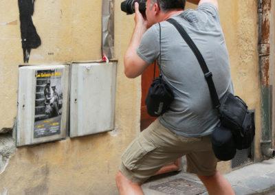 Reportage dans la rue