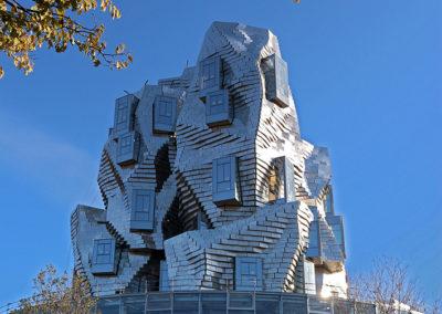 Tour Luma par Franck Gehry